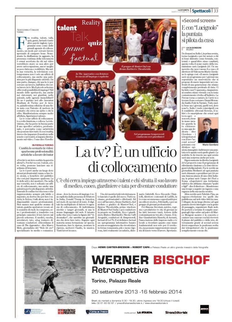 La_Stampa_12 10 2013_IOLAVORO